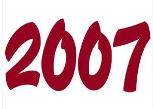 Geboortejaar 2007